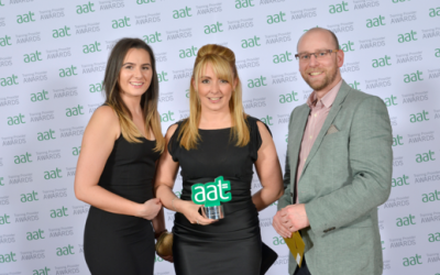 Damar Training named AAT Training Provider of the Year by the Association of Accounting Technicians