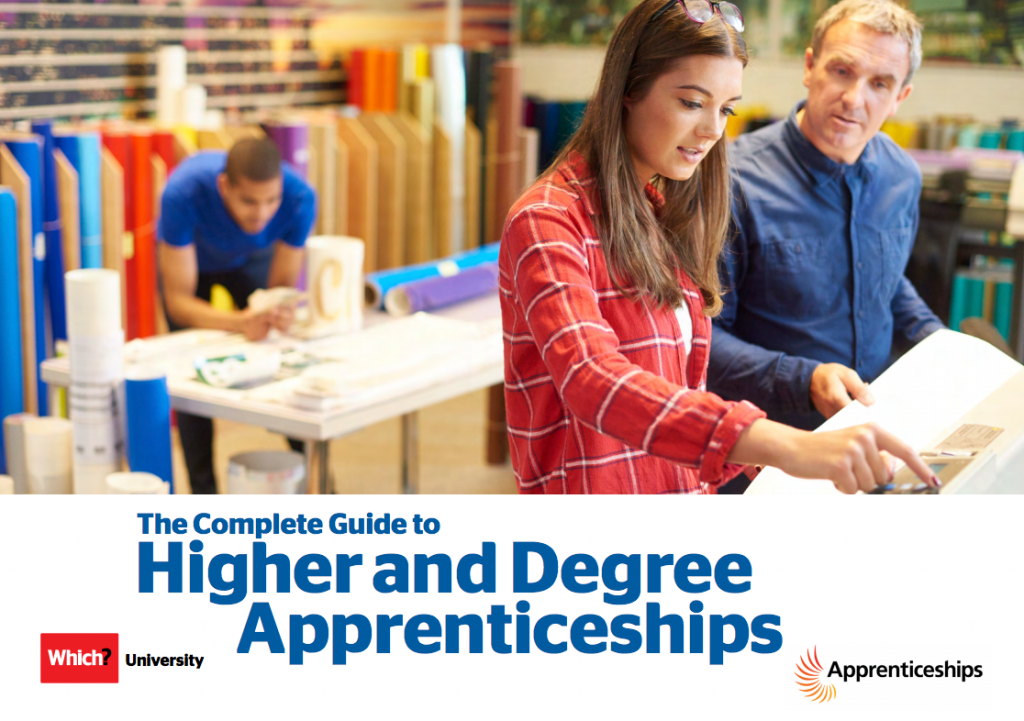 Image result for higher and degree apprenticeship guide