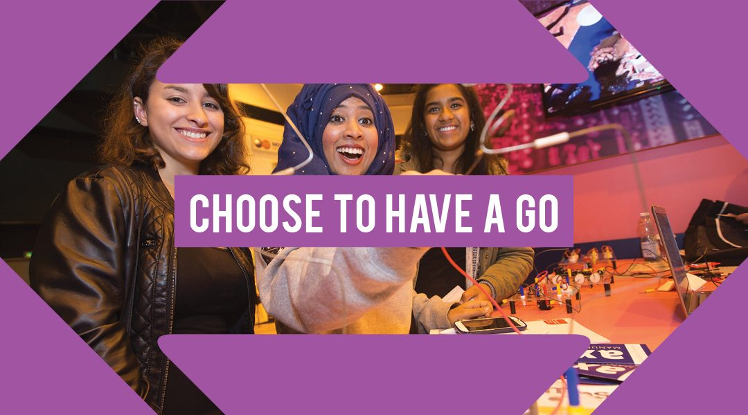 Exhibit at Choices – Greater Manchester Careers Event
