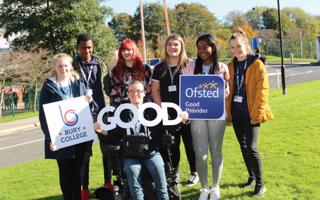 Bury College Ofsted Report Praises Staff and Students