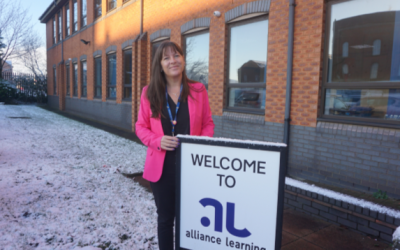 Award winning Training Provider Alliance Learning appoints new CEO!