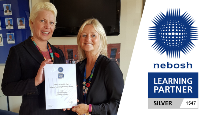 Alliance Learning awarded NEBOSH Award!