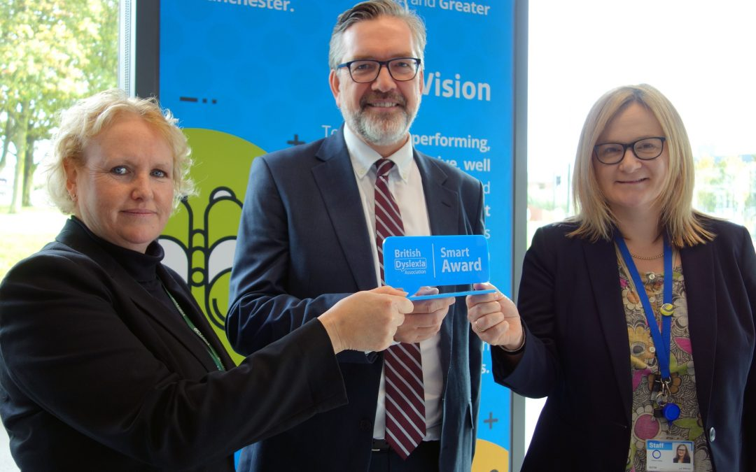First for UK FE College: Oldham College gets Dyslexia Smart Award