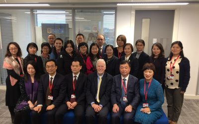 GMLPN invited to present to visitng Principles and Senior Managers from Colleges in Shanghai