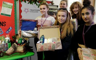 Community spirit shining bright at Trafford College
