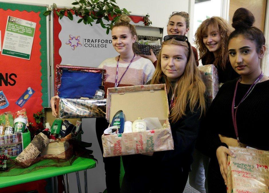 Community spirit shining bright at Trafford College